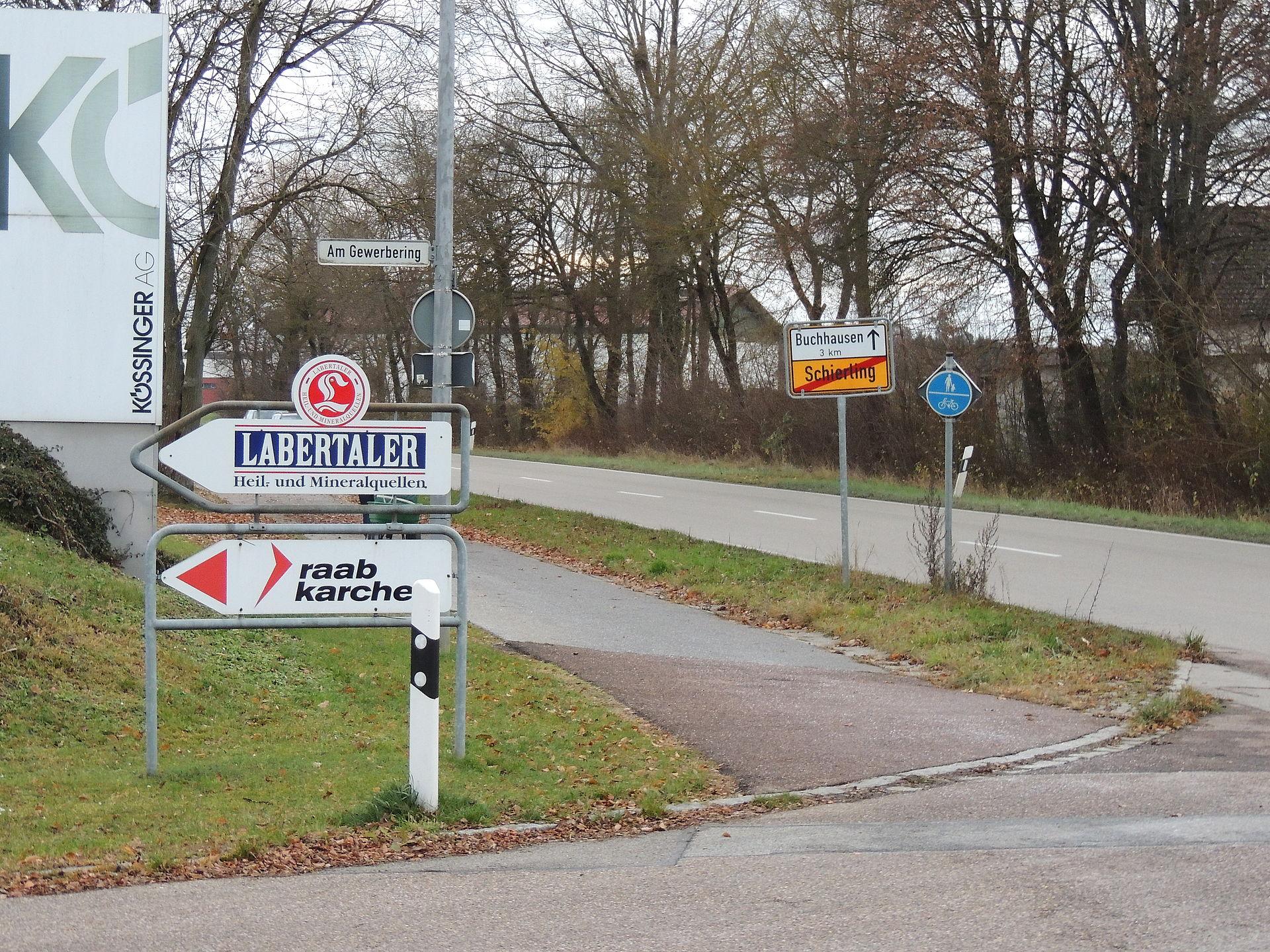 Wertstoffhof Langquaid